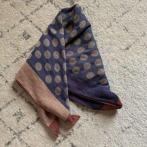 Polka dot bandana hair neck scarf